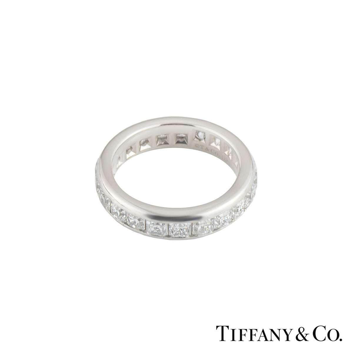 Tiffany & Co Diamond Lucida Eternity Ring 2.73ct